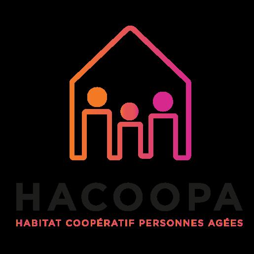 logo hacoopa habitat coopératif personnes agées orvault nantes