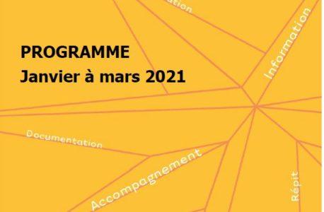 Ateliers Maison des Aidants de Nantes – Janvier 2021